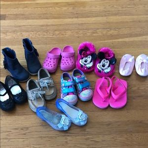 Toddler Girl Shoes size 7-7.5